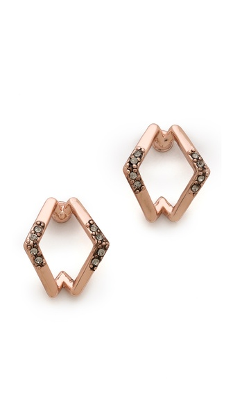 House of Harlow 1960 Sound Waves Earrings