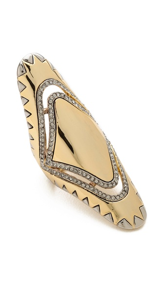 House of Harlow 1960 Modern Tribal Ring