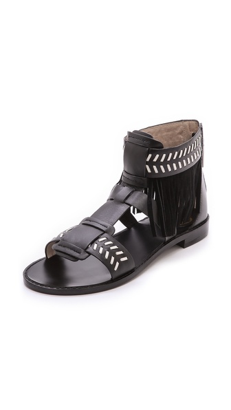 House of Harlow 1960 Gayle Fringe Sandals