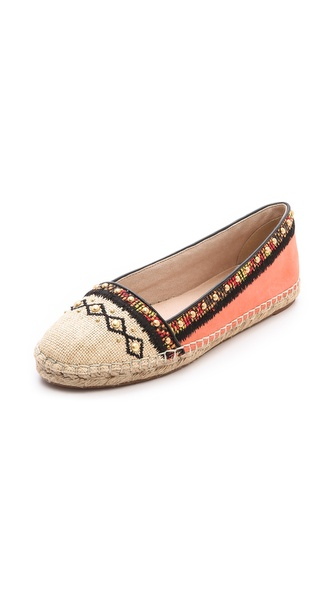 House of Harlow 1960 Kat Studded Espadrilles