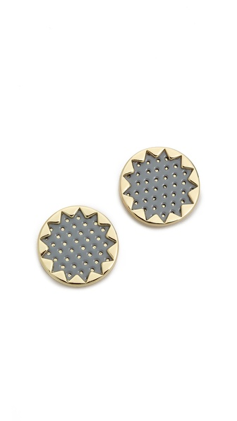 House of Harlow 1960 Sunburst Button Earrings