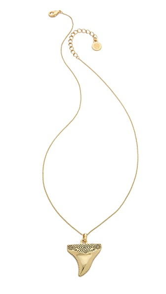 House of Harlow 1960 Totemic Tooth Necklace