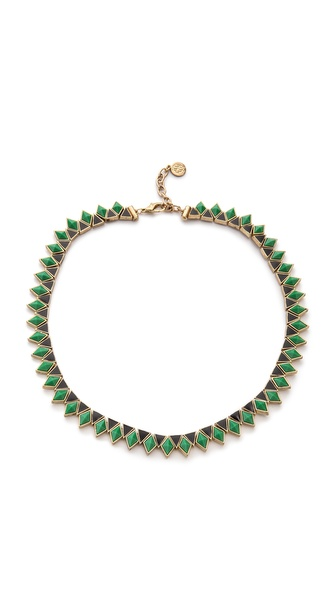 House of Harlow 1960 Wren Feather Collar Necklace
