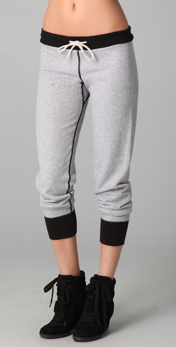 MONROW Inside Out Slim Sweats