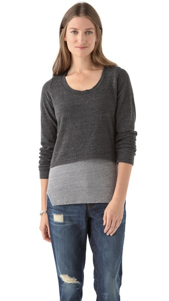 MONROW Double Layer Sweatshirt