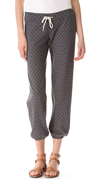 MONROW Polka Dot Vintage Sweats