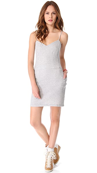 MONROW Novelty Basics Sweetheart Dress