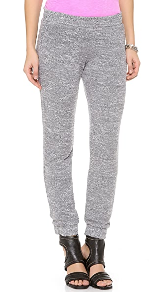 MONROW Sweater Knit Slim Sweatpants
