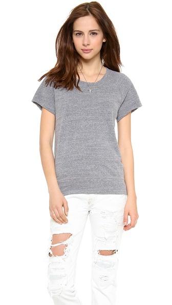 MONROW Short Sleeve Sweatshirt