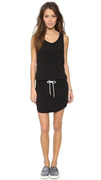MONROW Crepe Tennis Dress