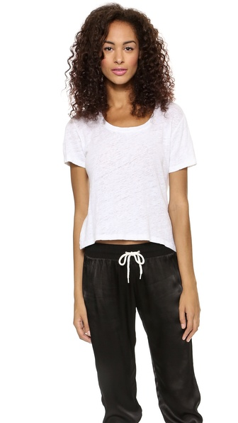 MONROW Cropped Fashion Tee