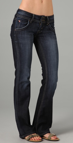 Hudson Petite Signature Boot Cut Jeans