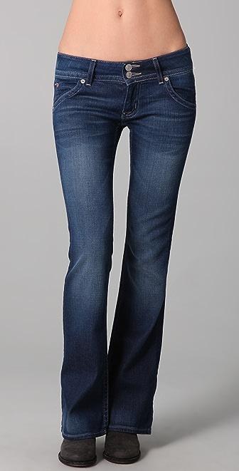 Hudson Signature Petite Boot Cut Jeans