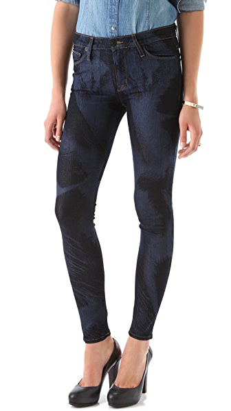 Hudson Nico Mid Rise Skinny Jeans