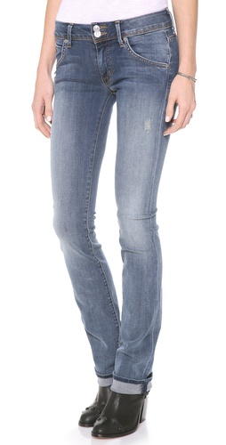 Hudson Beth Mid Rise Baby Boot Cut Jeans at Shopbop / East Dane