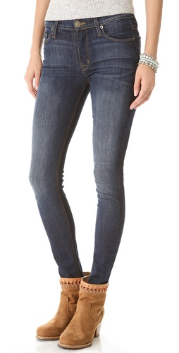 Hudson Nico Mid-Rise Super Skinny Jeans at Shopbop / East Dane