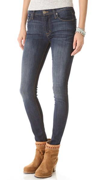 Hudson Nico Mid-Rise Super Skinny Jeans - Siouxie at Shopbop