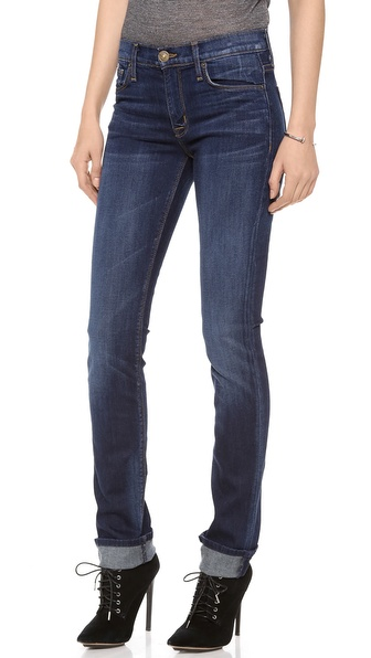 Hudson Tilda Mid Rise Cigarette Jeans - Unplugged at Shopbop