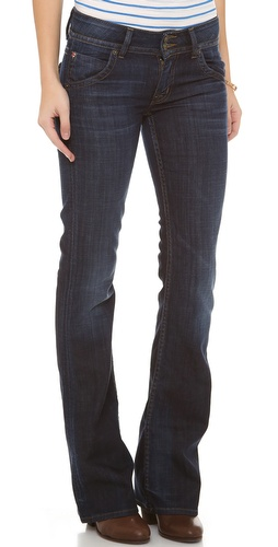 Hudson Signature Mid Rise Boot Cut Jeans at Shopbop / East Dane