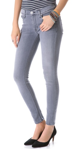 Hudson Nico Mid Rise Super Skinny Jeans at Shopbop / East Dane