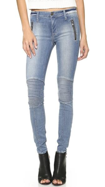 Hudson Stark Moto Jeans - Vandal at Shopbop