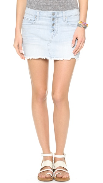 Hudson Anya Miniskirt - The Hustle at Shopbop