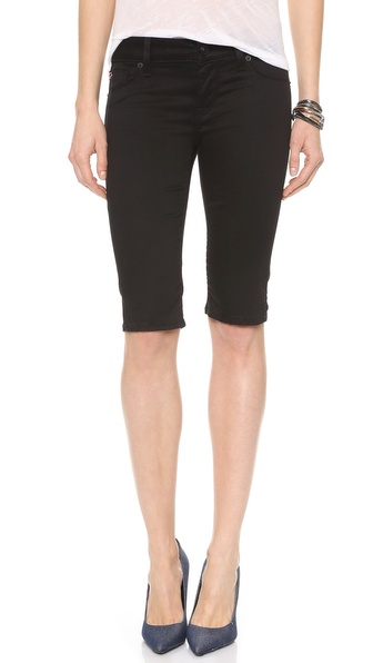 Hudson Viceroy 5 Pocket Knee Shorts - Black Knight at Shopbop