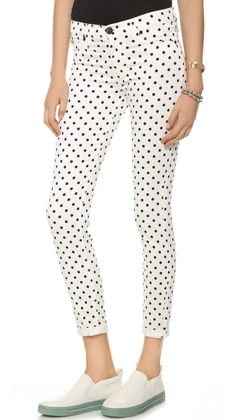 Hudson Nico Super Skinny Jeans - Cloud Nine Dot at Shopbop