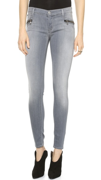 Hudson Spark Super Skinny Jeans - Puritan at Shopbop
