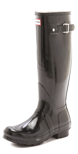 Hunter Boots Hunter Original Gloss Rain Boots at Shopbop / East Dane