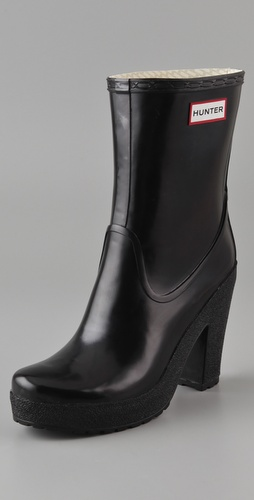 Hunter Boots Arnie High Heel Boots