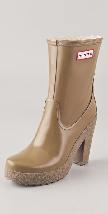 Hunter Boots Arnie High Heel Boots