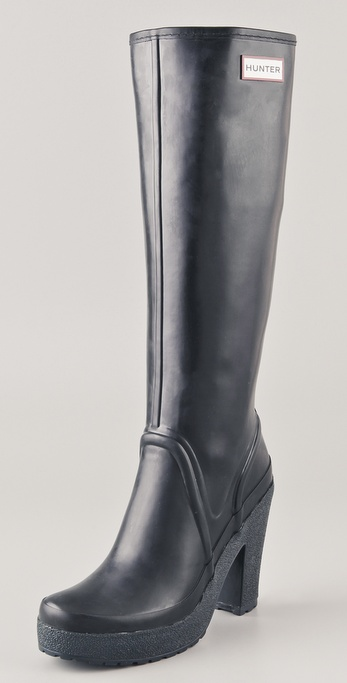 Hunter Boots Lonny High Heel Tall Boots