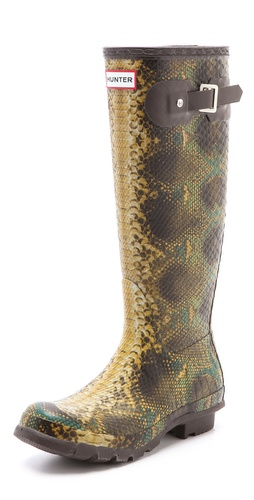 Hunter Boots Hunter Snake Boots at Shopbop.com