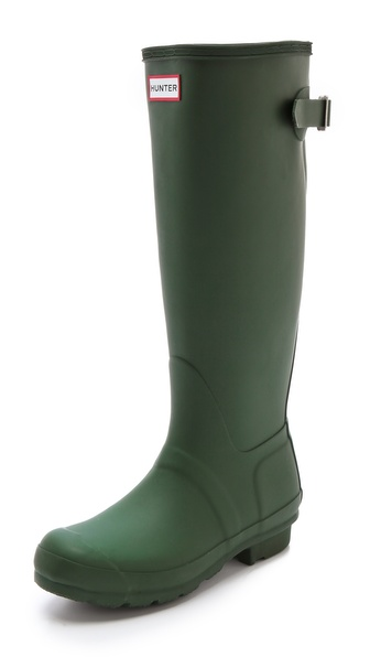 Hunter Boots Hunter Adjustable Boots - Green at Shopbop / East Dane