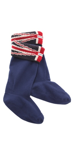 Hunter Boots Original Brit Cuff Welly Socks at Shopbop.com