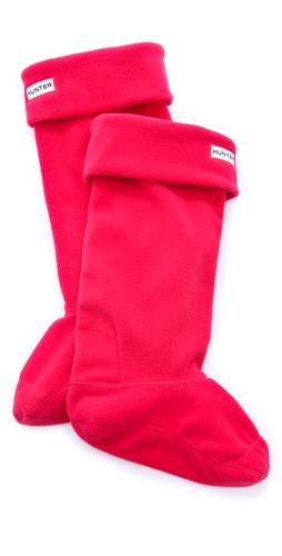 Hunter Boots Fleece Welly Socks at Shopbop / East Dane