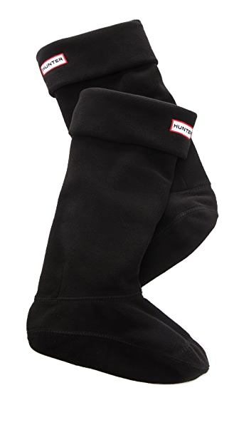 Hunter Boots Fleece Welly Socks