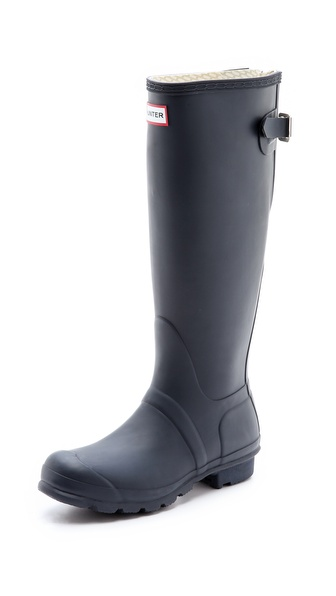 Hunter Boots Adjustable Back Rain Boots