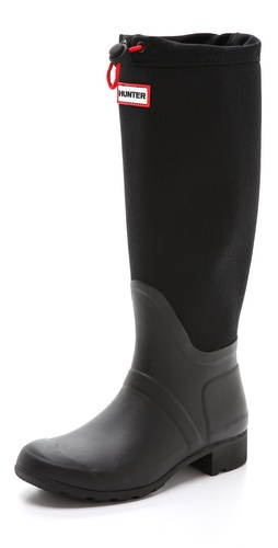 Hunter Boots Original Tour Canvas Tall Boots at Shopbop / East Dane