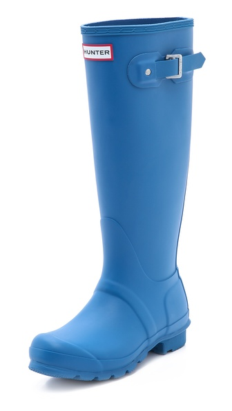Hunter Boots Original Tall Boots - Denim Blue at Shopbop / East Dane