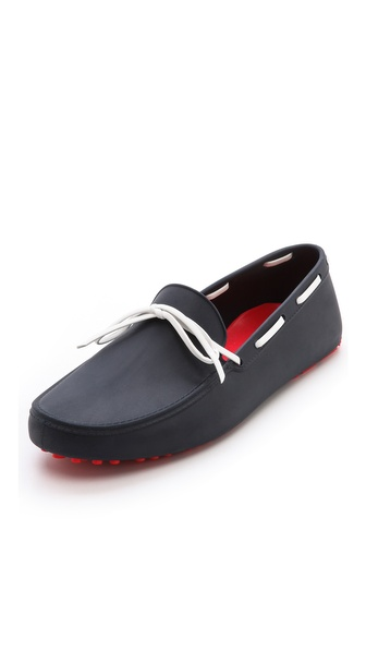 Hunter Boots Original Driving Moccasins - Navy at Shopbop / East Dane