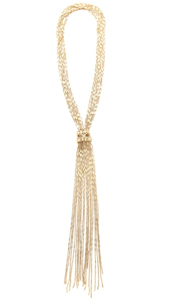 IaM by Ileana Makri Figaro Lariat Necklace