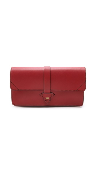 IIIBeCa by Joy Gryson Flap Clutch