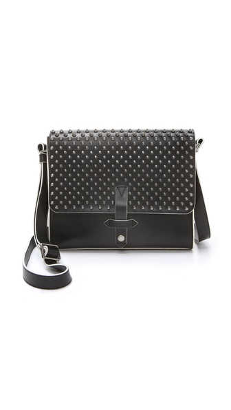 IIIBeCa by Joy Gryson Studded Duane Street Messenger