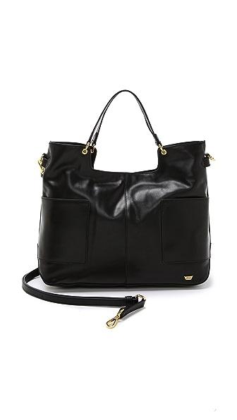 IIIBeCa by Joy Gryson Leather Shopper