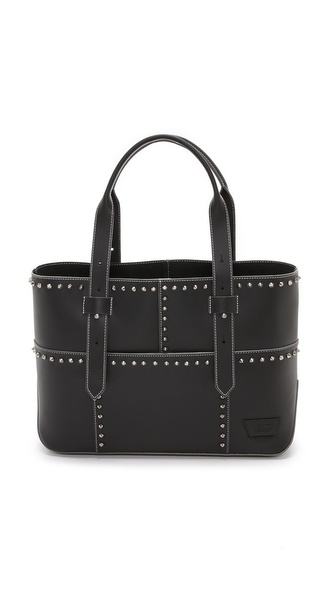 IIIBeCa by Joy Gryson Studded Warren Street Tote