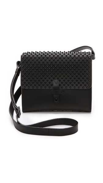 IIIBeCa by Joy Gryson Studded Duane Street Messenger Bag