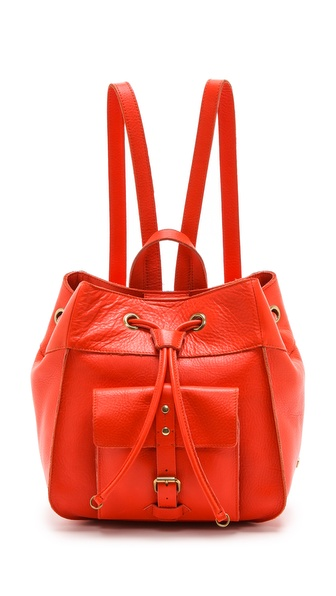 Iiibeca By Joy Gryson Franklin Street Backpack - Mandarin at Shopbop / East Dane