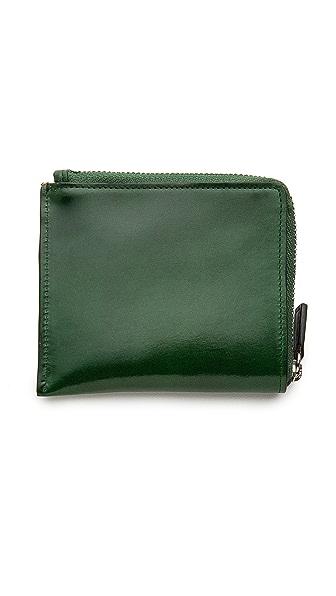 Il Bussetto Half Zip Wallet